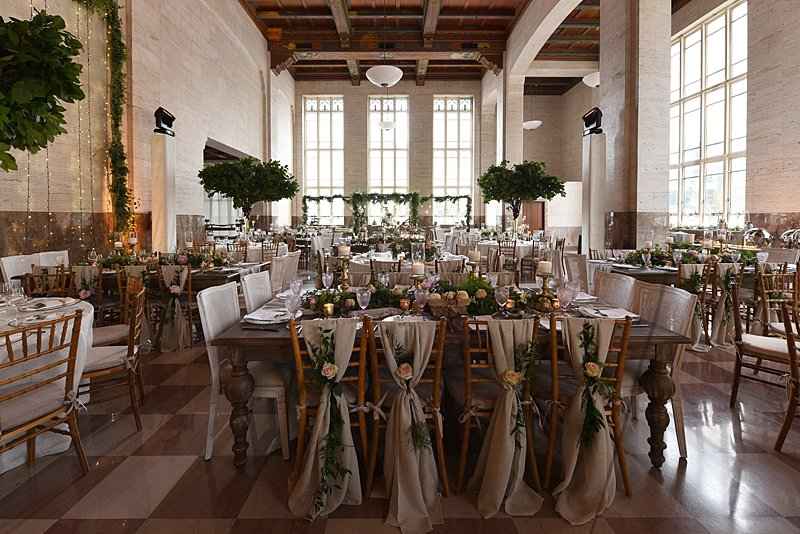 Searching for the perfect wedding venue can seem daunting, especially when the venue space doesn't seem big enough. We're showcasing a few couples who have successfully repurposed their wedding venue to maximize the space and achieve their vision at Miami's Wedding Venue | The Historic DuPont Building