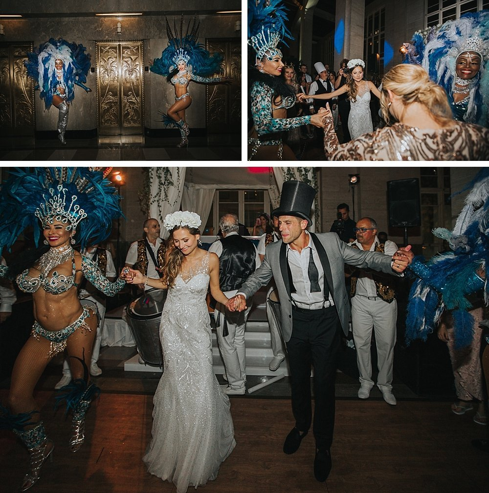 modern-day traditional wedding, bride and groom, miami wedding at the Alfred I Dupont Building
