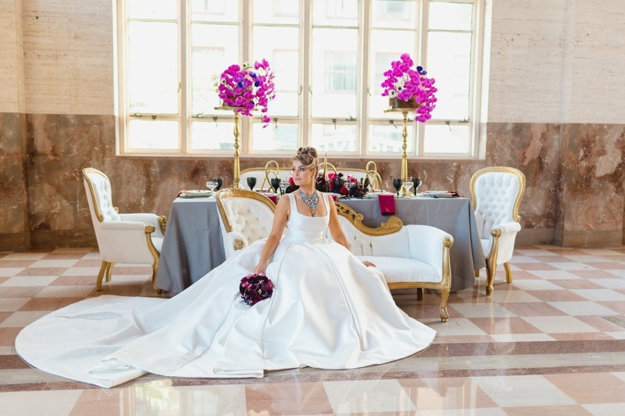 A Classic Wedding at Alfred Dupont by elegantwedding.com
